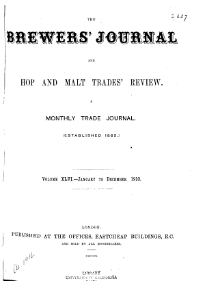 International Brewers' Journal