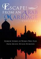 Escape  from an Arab Marriage PDF