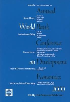 Annual World Bank Conference on Development Economics 2000