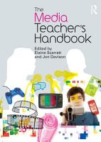 The Media Teacher s Handbook PDF