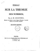 Essai sur la theorie des nombres; par A.M. Legendre, membre de l'Institut et de la Legion d'Honneur ..