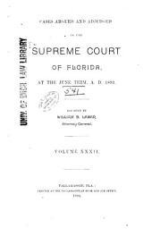 Cases Adjudicated: Volume 32
