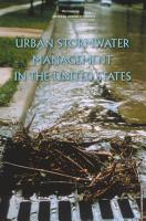 Urban Stormwater Management in the United States PDF