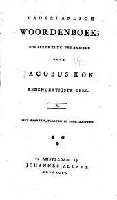 Vaderlandsch woordenboek: Volumes 31-32
