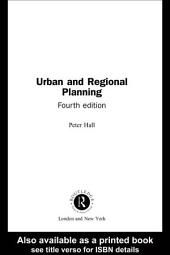 Urban and Regional Planning: Edition 4