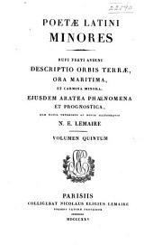 Poetae latini minores ... quae ...