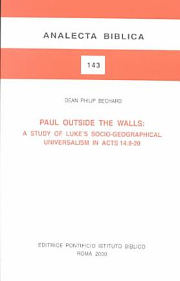 Paul Outside the Walls PDF