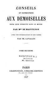 Oeuvres de Madame de Maintenon