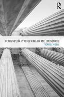 Contemporary Issues in Law and Economics PDF