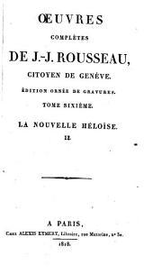 Œuvres complètes: Volume6