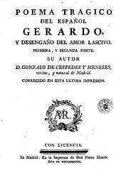 Poema tragico del español Gerardo, y desengaño del amor lascivo: primera y segunda parte, Página 2