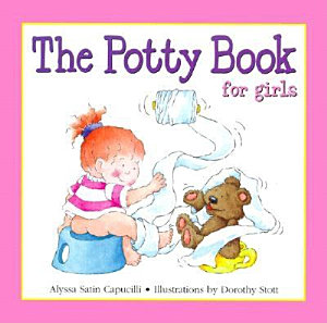 The Potty Book for Girls Book