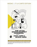 Little  Brown Compact Handbook  The  Books a la Carte Edition PDF