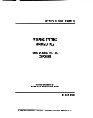 Weapons Systems Fundamentals