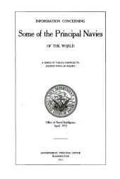 Information concerning the U.S. Navy and other navies of the world, a series of tables compiled to answer popular inquiry