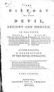The History of the Devil  Ancient and Modern     A New Edition PDF