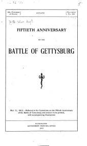 Fiftieth Anniversary of the Battle of Gettysburg ...