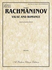 Valse and Romance: Late Intermediate Piano Trio