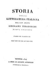 Storia della letteratura italiana: Volumi 23-24