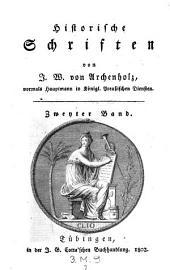 Historische Schriften. Bd 1.2. - Tübingen, J. G. Cotta 1803