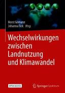 Wechselwirkungen zwischen Landnutzung und Klimawandel PDF