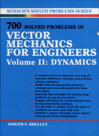 700 Solved Problems In Vector Mechanics for Engineers  Dynamics PDF