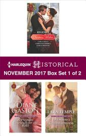 Harlequin Historical November 2017 - Box Set 1 of 2: Regency Christmas Wishes\A Pregnant Courtesan for the Rake\Lord Hunter's Cinderella Heiress