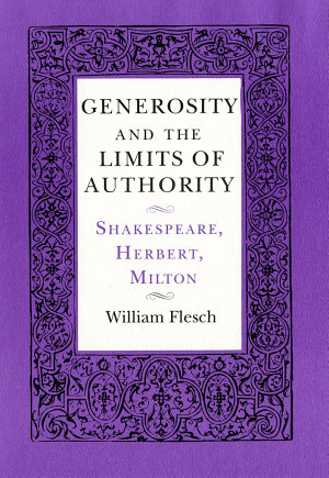 Generosity and the Limits of Authority PDF