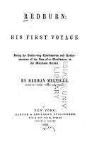 Redburn  His First Voyage PDF