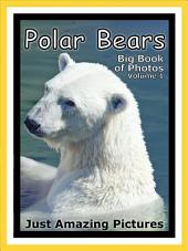 Just Polar Bears! vol. 1: Big Book of Polar Bear Photographs & Pictures