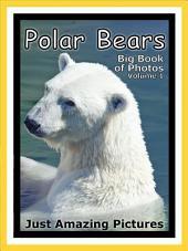 Just Polar Bears! vol. 1: Big Book of Polar Bear Photographs & Pictures