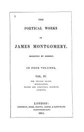 The Poetical Works of James Montgomery: Volume 4