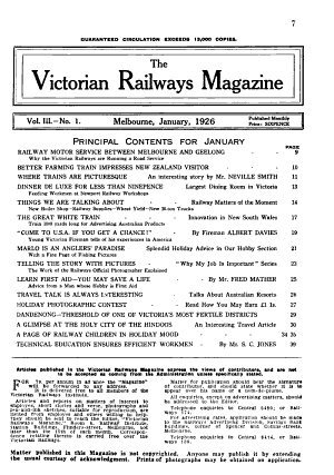 The Victorian Railways Magazine