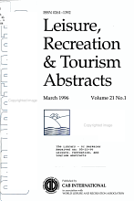Leisure  Recreation  and Tourism Abstracts PDF