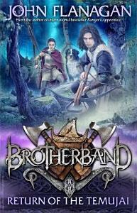 Brotherband 8  Return of the Temujai Book