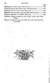 The Improved Practical Navigator: Containing All Necessary Instruction for Determining the Latitude by Various Methods, and for the Ascertaining the Longitude by Lunar Observations, in a Complete Epitome of Navigation. To which is Added a Number of New Tables
