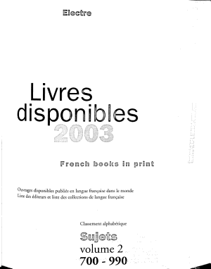 French books in print