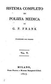 Sistema Completo Di Polizia Medica: Volume 5