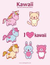 Kawaii libro para colorear para adultos 1