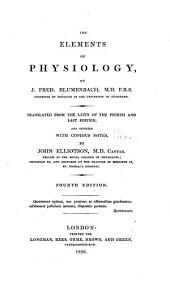The Elements of Physiology