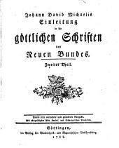 Einleitung in die göttlichen Schriften des Neuen Bundes: Band 2
