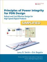Principles of Power Integrity for PDN Design  Simplified PDF