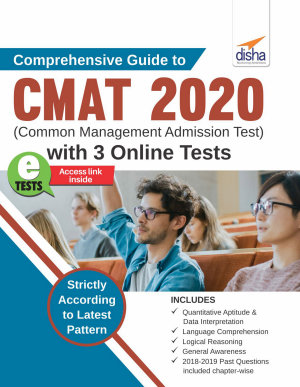 Comprehensive Guide to CMAT 2020  Common Management Admission Test  with 3 Online Tests 3rd Edition