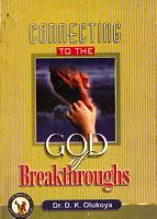 Connecting to the God of Breakthroughs PDF