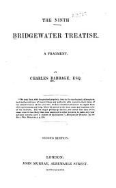 The Ninth Bridgewater Treatise: A Fragment