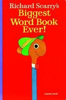 Richard Scarry s Biggest Word Book Ever PDF
