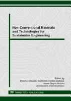 Non Conventional Materials and Technologies for Sustainable Engineering PDF