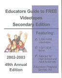 Educators Guide to Free Videotapes