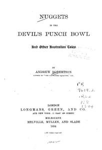 Nuggets in the Devil s Punch Bowl Book