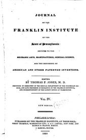 Journal of the Franklin Institute: Volume 4; Volume 8
